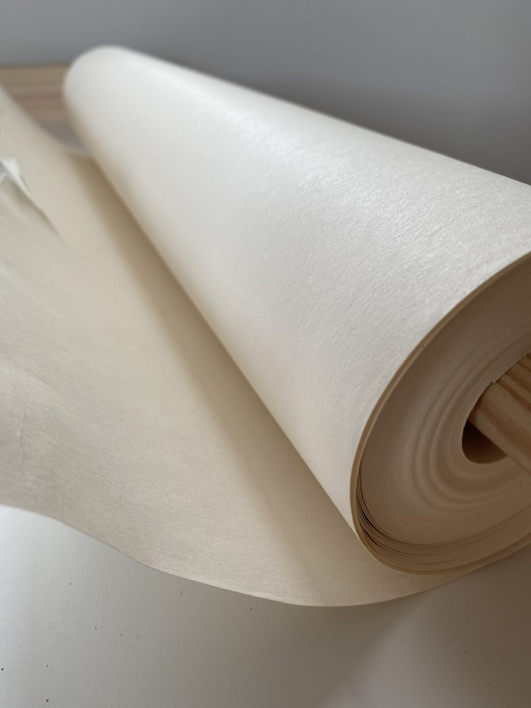 ロール紙の拡大